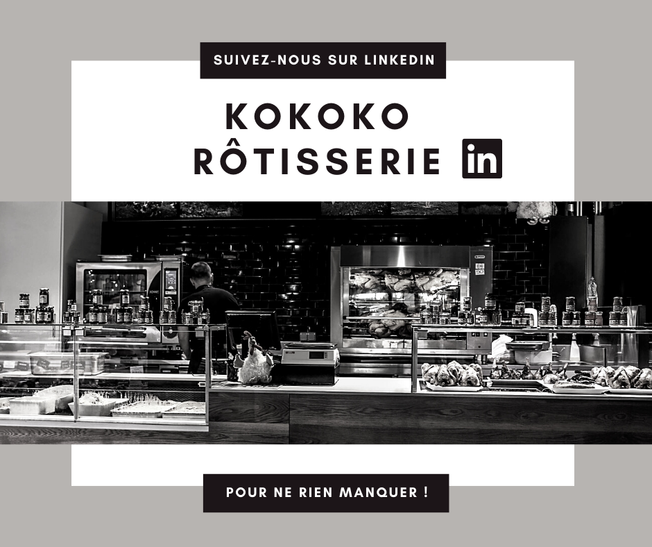 Page LinkedIn Kokoko Rôtisserie